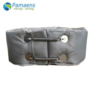 High Temperature Thermal Insulation Jacket Blanket for Barrel with One Year Warranty