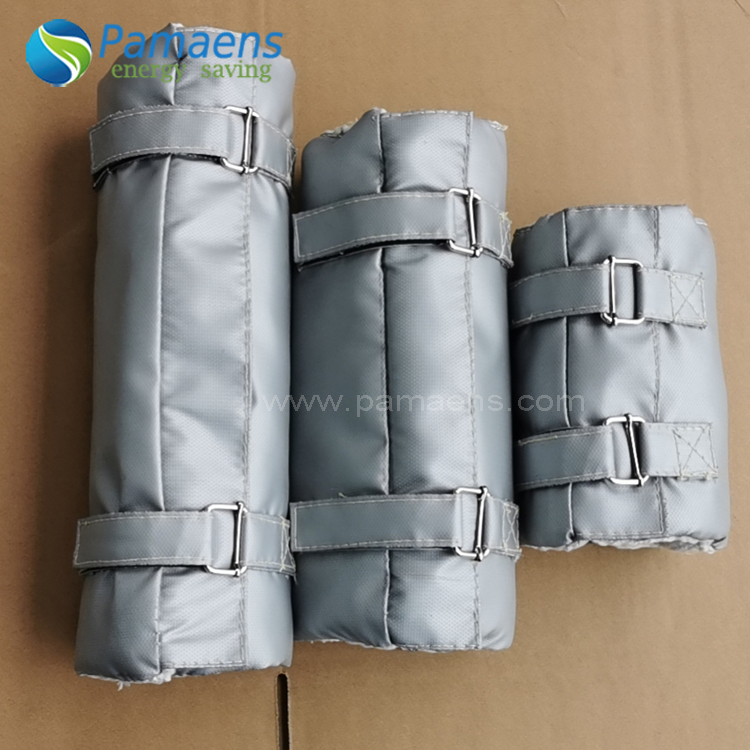 Customized Fiberglass Removable Pipe Thermal Insulation Jacket & Covers with Fast Delivery Featured Image