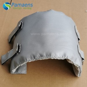 Removable Customized Outdoor Pipe Insulation Jacket with Fast Delivery
