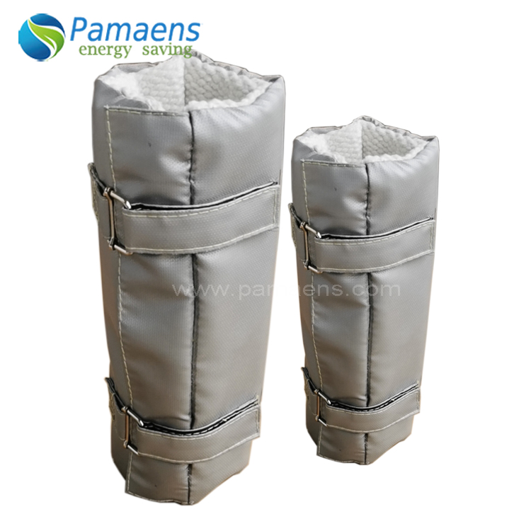 Fiberglass Removable Pipe Thermal Insulation Jacket & Cover