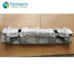 Water and Fire Proof Customized PVC Pipe Insulation Jacket Factory Supplied Directly