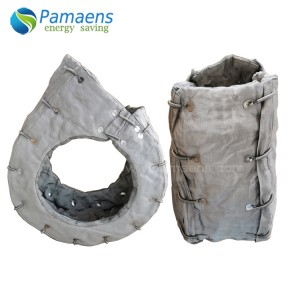 Reusable and Removable Turbo Charger Insulation Jacket Insulation Cover with Long Term Temp Resistance 800 deg C