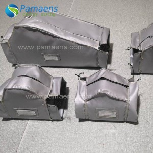 High Quality Removable Glass Fiber Cloth Thermal Jacket Insulation for Exhaust Valves and Pipes