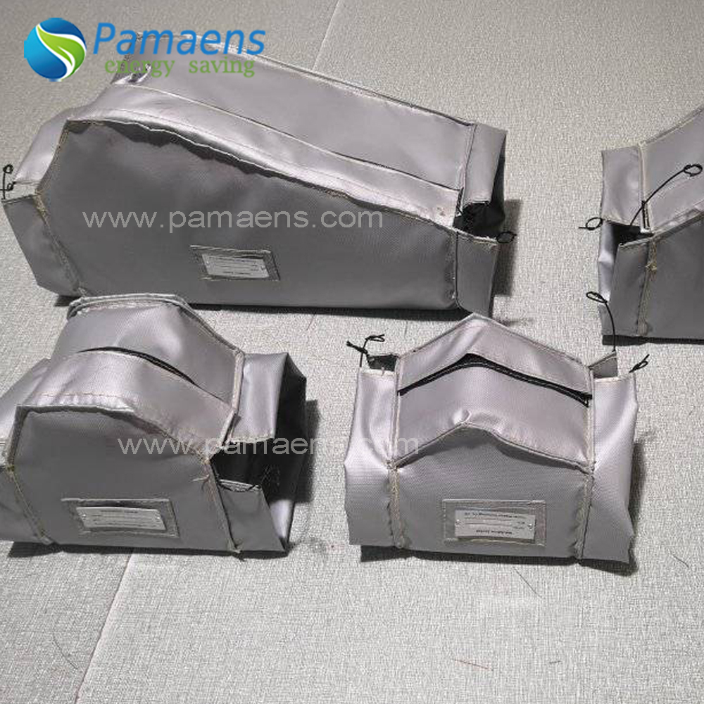 High Quality Removable Glass Fiber Cloth Thermal Jacket Insulation for Exhaust Valves and Pipes Featured Image