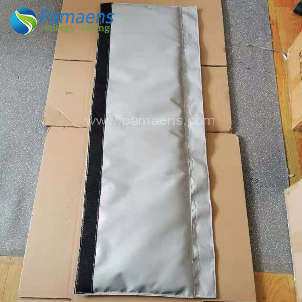Removable Customized Industrial Insulation Jacket for Steam Pipe Featured Image