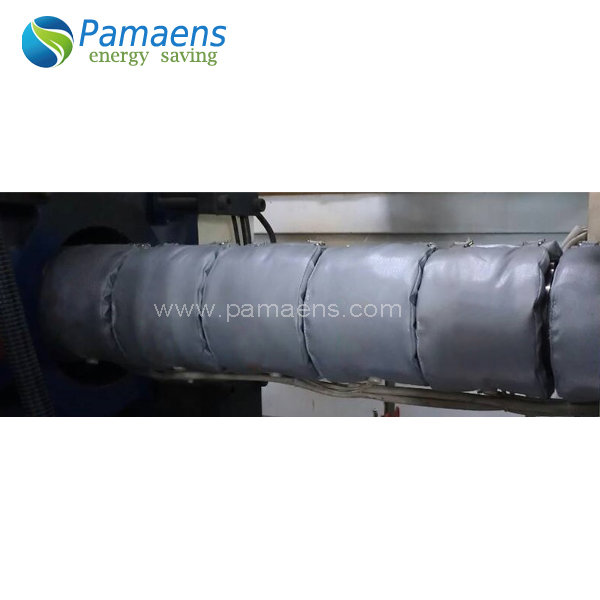 Removable and Reusable Insulation Jackets for plastic machines