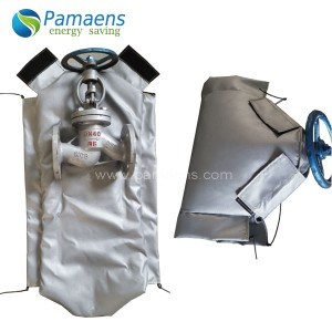 High Quality HighTemperature Fire Resistant Valve Insulation Jacket Supplied by PAMAENS Factory