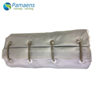 Removable and Reusable Heat Insulation Exhaust Pipe Cover