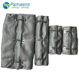 Reusable and Removable Heat Resistant Insulation Pipe Cover