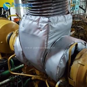 Gate Ball Global Breather Valve Thermal Insulation Blanket Jacket, OEM Insulation