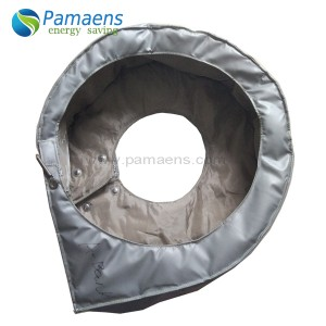 Removable and Reusable Turbo Charger Insulation Jackets