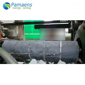 Customized Heat Insulation Extruder Jacket Supplied by Factory Directly