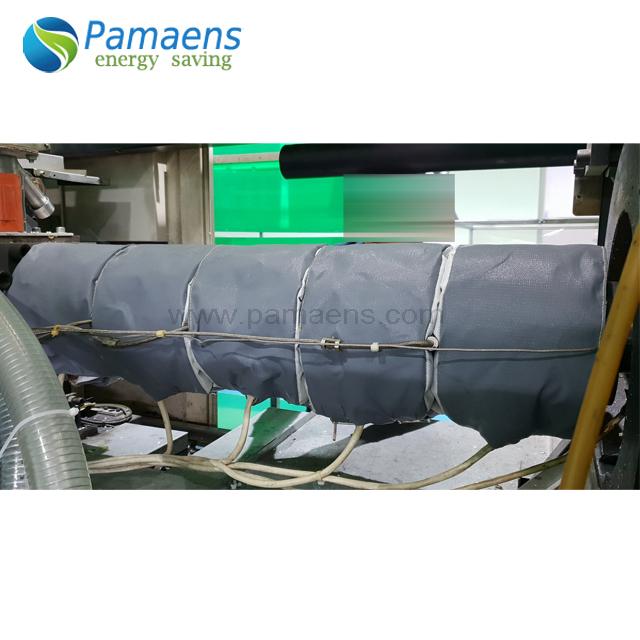 Индивидуальная теплоизоляционная оболочка экструдера, поставляемая фабрикой.