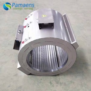 Energy Saving Band Heater for Plastic Machines Process with Wet Plastic Film