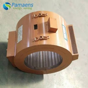 High Temperature Energy Saving Nano Infrared Band Heater for Polypropylene Granulator with One Year warranty
