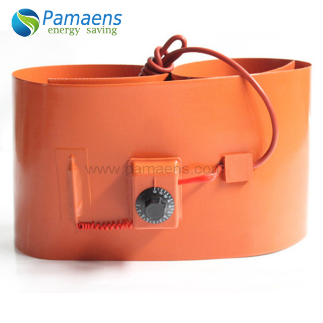 20L/200L Silicone Rubber Oil Drum Heater Belt with Thermostat Featured Image