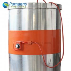High heating efficiency custom silicone rubber flexible heater