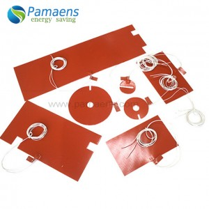 Silicone heating plate