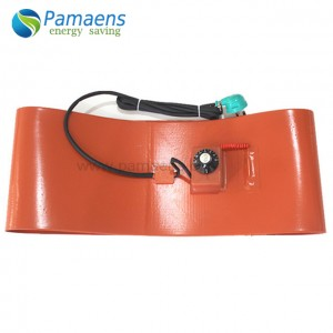 High quality silicone bottom heating plate with one year warranty