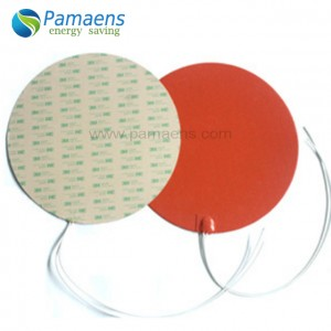 High Quality Flexible Silicone Rubber Enclosure Heater with One Year Warranty