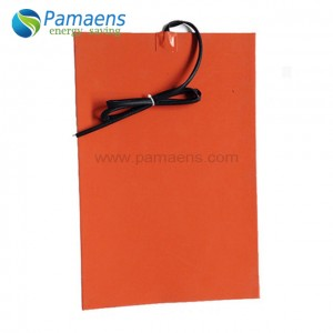 High quality silicone heating strip with one year warranty