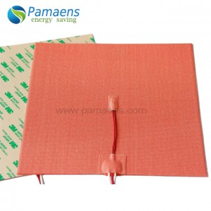 Self adhesive silicone heating pad