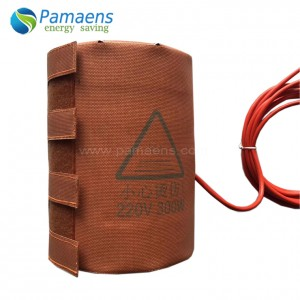 Long Lifetime Good Price Silicone Heater for Gas Cylinder Tank with One Year Warranty