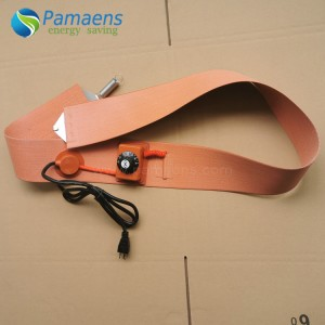 High quality silicone heating belt with one year warranty