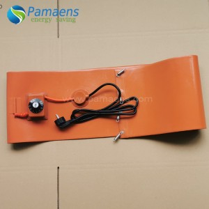 High Quality Silicone Bucket Heater Made by Chinese Factory