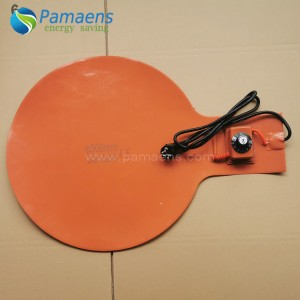 High Quality Flexible Silicone Rubber Heater Bottom Heater for Drum Chinese Factory Supplied