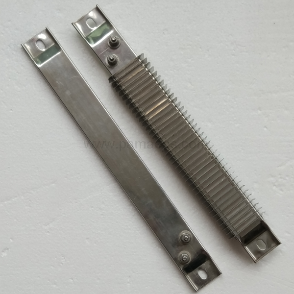 Finned Strip Heaters-ceramic strip heater with fins