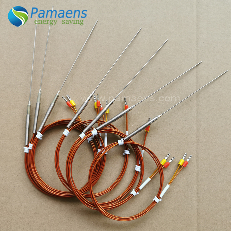 Factory Supplied Customized Pin Type Themo couple, K type, J type, PT100 Featured Image