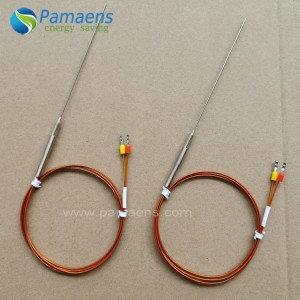 Needle Type Thermocouple with One Year Warranty