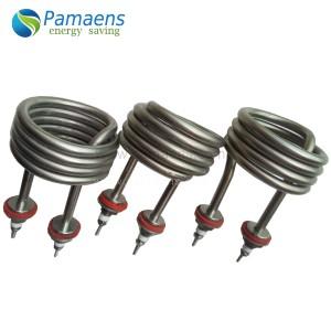 Best Sell Factory Supplied 110v 220v 380v Immersion Tubular Heater Made of Stainless Steel 316