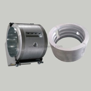 Air Cooled Ceramic Band Heater with Ceramic Fins