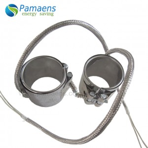 Mica Band Heating Element for Plastics Injection Molding, Extrusion and Blow Molding Machines